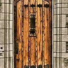 wooden door by A.R. Williams