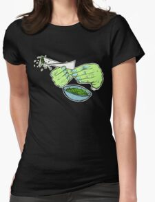 ROLLER GREEN Womens Fitted T-Shirt