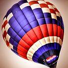 hot air balloon by A.R. Williams