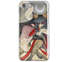 Fox Spell - Kitsune Yokai Japanese iPhone Case/Skin