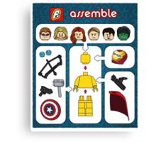 LEGO Avengers Assemble Canvas Print