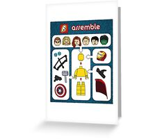 LEGO Avengers Assemble Greeting Card