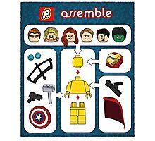 LEGO Avengers Assemble Photographic Print
