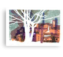 Argyle Street, Carlton Canvas Print