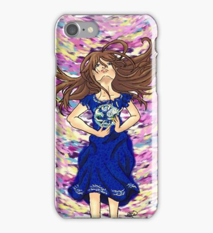 World of color w/ ribbon iPhone Case/Skin