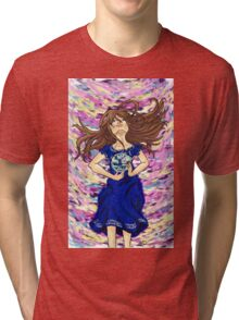 World of color w/ ribbon Tri-blend T-Shirt