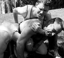 Gym Boys Fantasy Stripped Bare - Foul Play 2 by Edmund Edwards