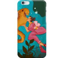 A Girl and her Eel iPhone Case/Skin
