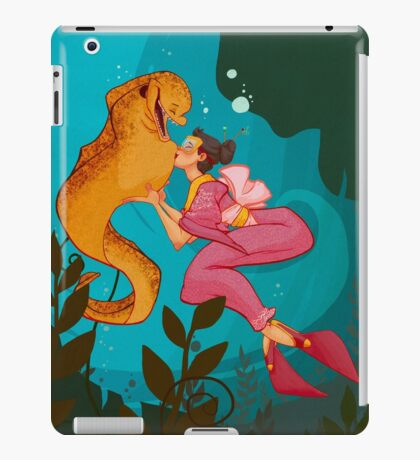 A Girl and her Eel iPad Case/Skin