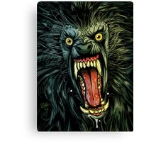 AN AMERICAN WEREWOLF IN LONDON Canvas Print