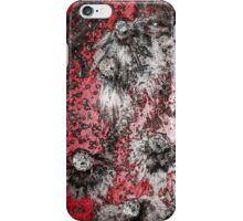 Impact #4 - Red iPhone Case/Skin