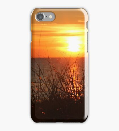 Sunset on the Beach iPhone Case/Skin
