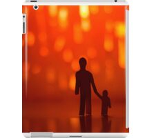 son and dad iPad Case/Skin