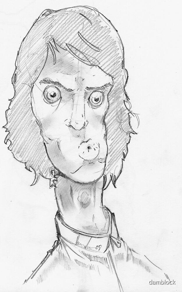 self portrait one by damblock