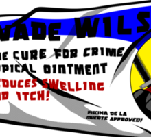 Wade Wilson's Topical Ointment Sticker