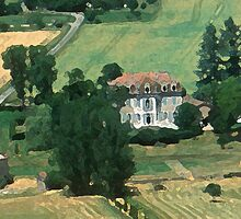 French countryside by William Mason