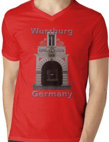 Wurzburg Archway Mens V-Neck T-Shirt