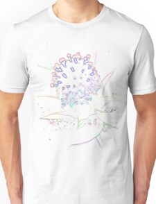 Abstract Flower in pastel Unisex T-Shirt