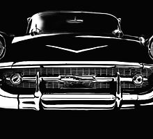 57 Chevy by Cliff Vestergaard