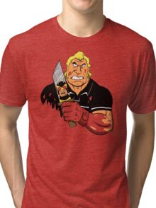 Slayer of Henchmen Tri-blend T-Shirt