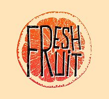 Orange fresh fruit illustration by ONiONAstudio