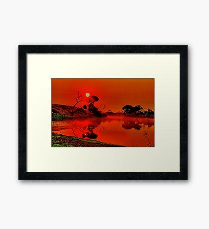"""""""Be Still"""" Framed Print"""