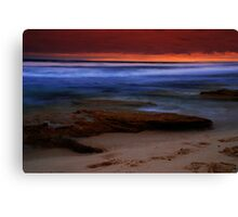 Surf Scene  Canvas Print