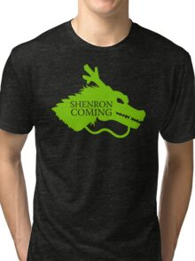 Shenron is Coming Tri-blend T-Shirt