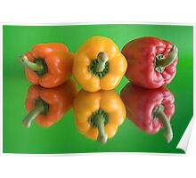 color peppers Poster