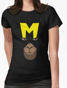 Dial M for Monkey Womens Fitted T-Shirt