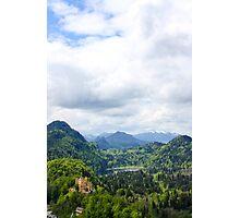 Hohenschwangau Castle Photographic Print