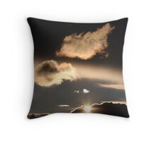 Above us only sky Throw Pillow