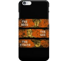 The Good, The Bad and The Gunslinger Cyborg iPhone Case/Skin