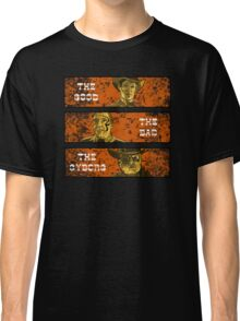 The Good, The Bad and The Gunslinger Cyborg Classic T-Shirt