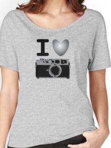 I love BW photography Women's Relaxed Fit T-Shirt