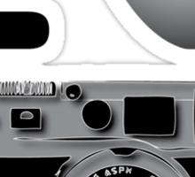 I love BW photography Sticker