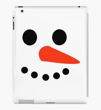 Snowman Face iPad Case/Skin