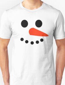 Snowman Face Unisex T-Shirt
