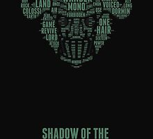 Shadow of the Colossus - Popular Word Typography by TheCh4nMan