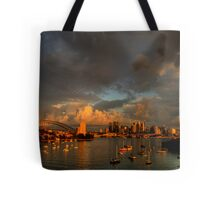 Silence Before The Storm - Moods of A City # 28 - Sydney Australia Tote Bag