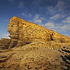 Nash Point, Glamorgan Coast, South Wales by dotcomjohnny