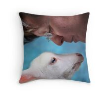 Mommy loves Steward Throw Pillow