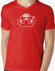 Viewmaster Colours Mens V-Neck T-Shirt