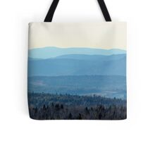 Layer Me Blue Tote Bag
