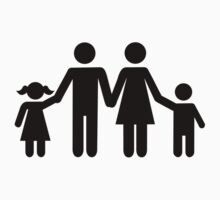 Family parents children Kids Tee