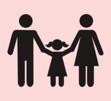Parents child daughter One Piece - Short Sleeve