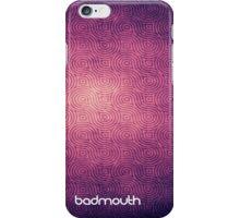 Violet Lines - Badmouth iPhone Case/Skin