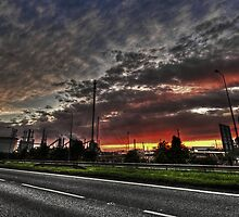 Explosion At The Oil Refinery by baddoggy