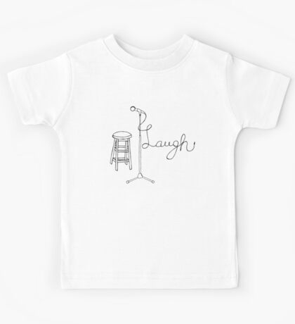 Stand Up Comedy Drawing. Kids Tee