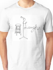 Stand Up Comedy Drawing. Unisex T-Shirt